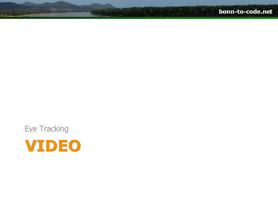 VIDEO Eye Tracking