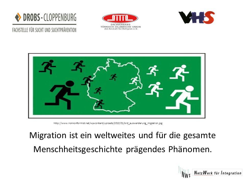 Migration ist ein weltweites und für die gesamte Menschheitsgeschichte prägendes Phänomen.
