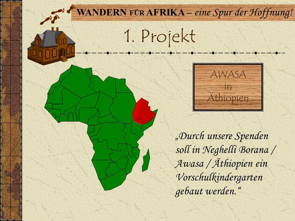 WANDERN FÜR AFRIKA – eine Spur der Hoffnung! Unsere Erfolge 29 Jahre besteht die Aktion bereits! Insgesamt wurden seit 1985 259.565,53 Euro erwandert!