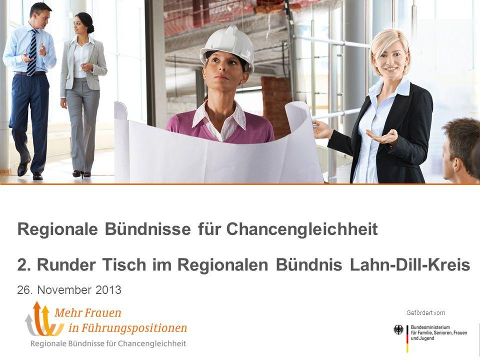 Gefördert vom Regionale Bündnisse für Chancengleichheit 2.