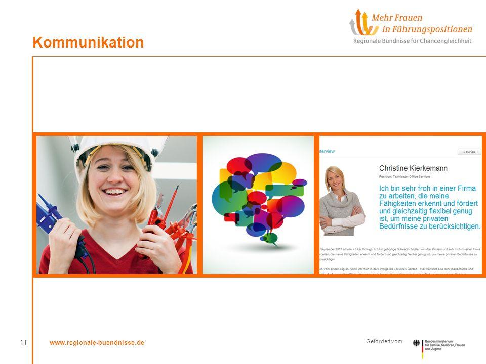 www.regionale-buendnisse.de Gefördert vom Kommunikation 11