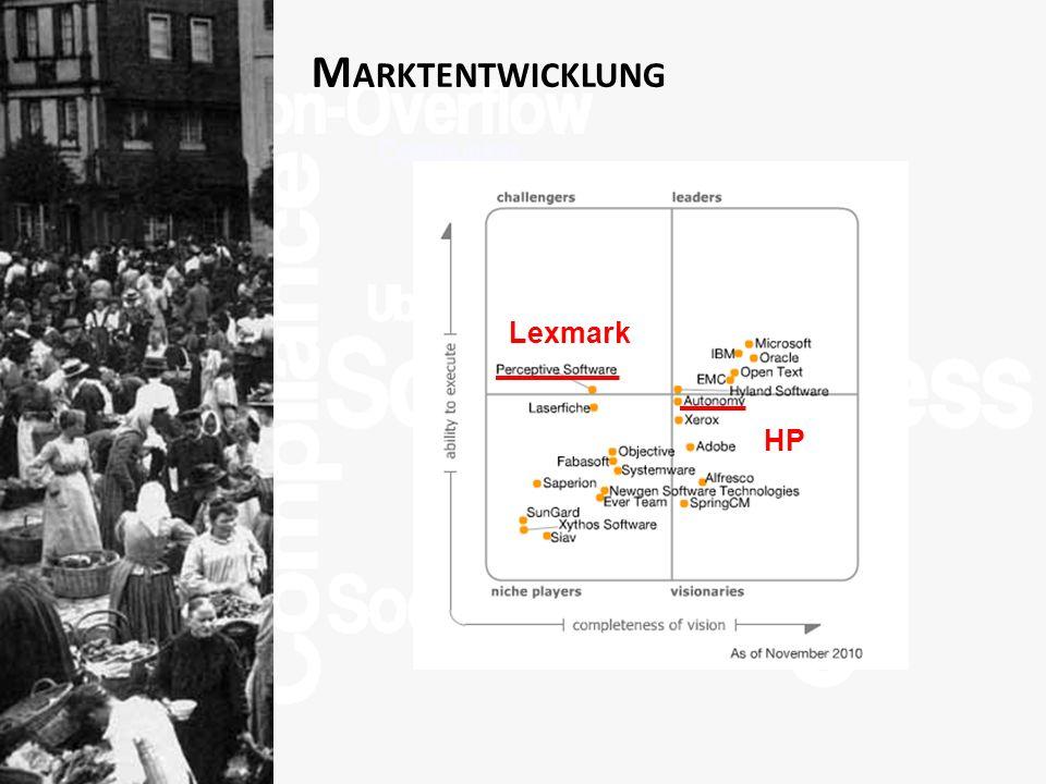 >Titel<>Veranstaltung<>Referent<>Datei< 13 M ARKTENTWICKLUNG HP Lexmark