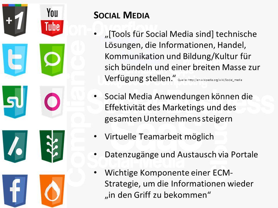 >Titel<>Veranstaltung<>Referent<>Datei< 32 S OCIAL M EDIA [Tools für Social Media sind] technische Lösungen, die Informationen, Handel, Kommunikation und Bildung/Kultur für sich bündeln und einer breiten Masse zur Verfügung stellen.