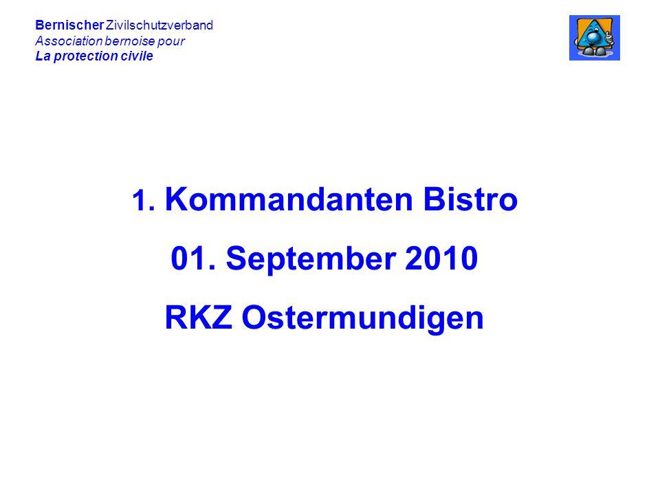 Bernischer Zivilschutzverband Association bernoise pour La protection civile Herausforderungen an den Bevölkerungsschutz.