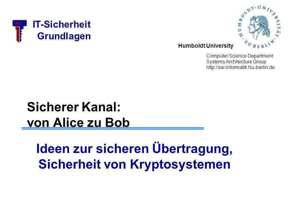 IT-Sicherheit Grundlagen Dr.Wolf Müller 22 Kryptografie: Historie Enigma –II.