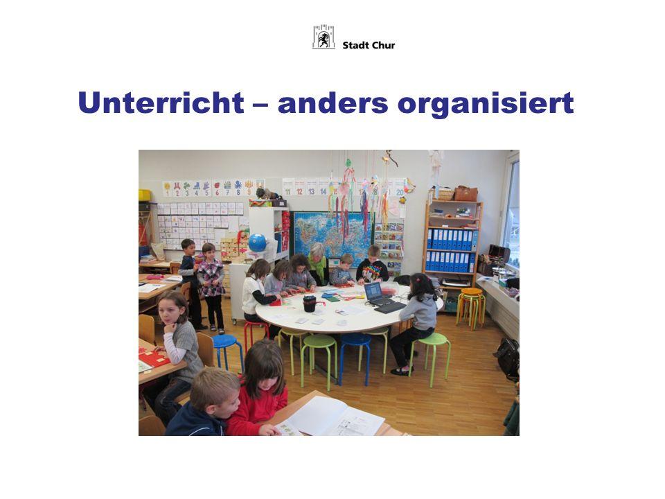 Unterricht – anders organisiert