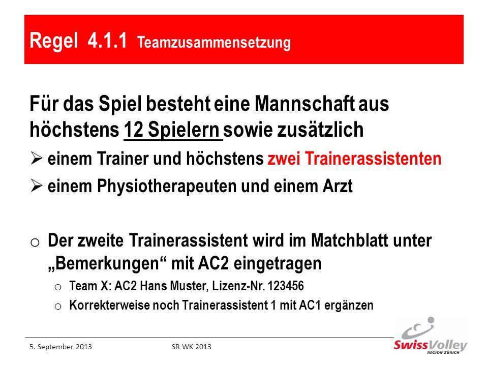 21.6 Karten für Sanktionen Verwarnung:1.verbal an Spielkapitän 2.