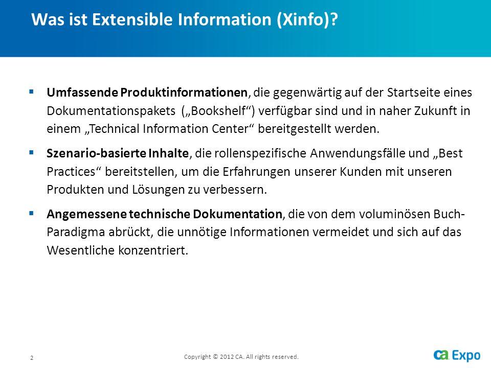 2 Umfassende Produktinformationen, die gegenwärtig auf der Startseite eines Dokumentationspakets (Bookshelf) verfügbar sind und in naher Zukunft in einem Technical Information Center bereitgestellt werden.