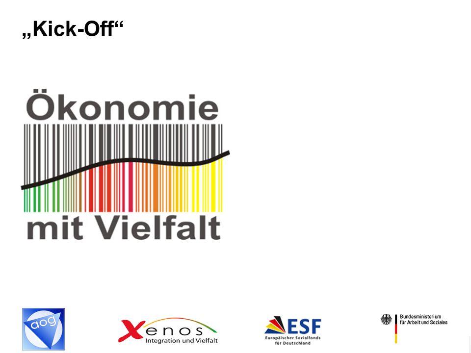 2 AGENDA Kick-off Ökonomie mit Vielfalt - Welche Ziele werden mit dem XENOS-Projekt Ökonomie mit Vielfalt verfolgt.