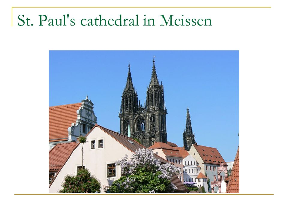 St. Paul s cathedral in Meissen