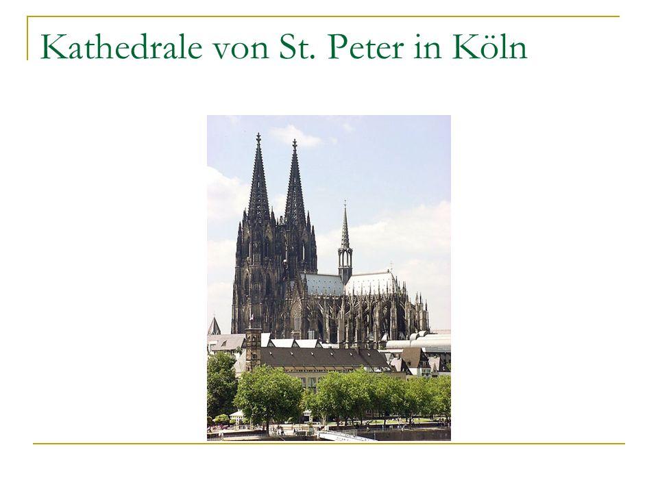 Kathedrale von St. Peter in Köln