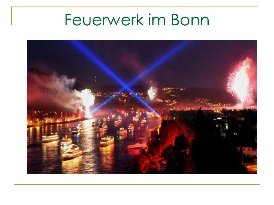 Feuerwerk im Bonn