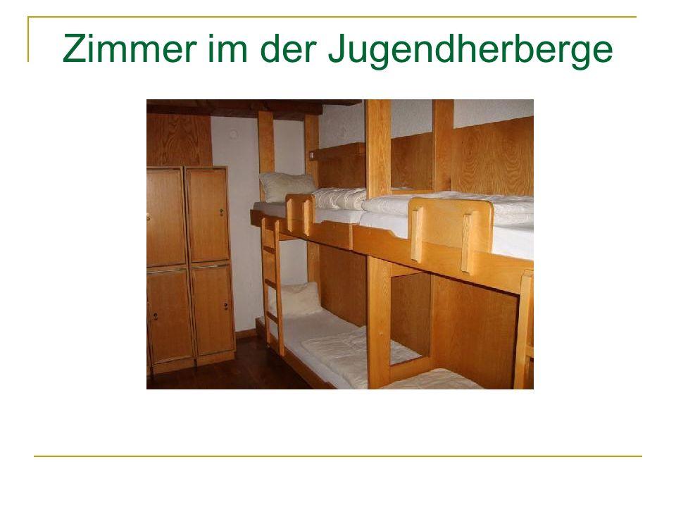 Zimmer im der Jugendherberge