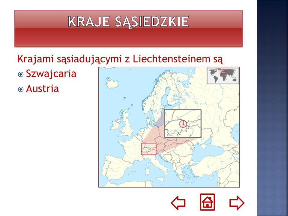 Die Nachbarn von Liechtenstein sind: Die Schweiz Der Österreich