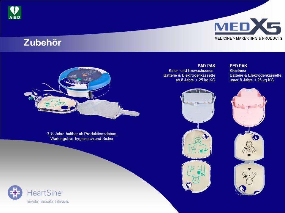 MEDICINE > MAREKTING & PRODUCTS PAD PAK Kiner- und Erewachsenen Batterie & Elektrodenkassette ab 8 Jahre > 25 kg KG PED PAK Kleinkiner Batterie & Elek