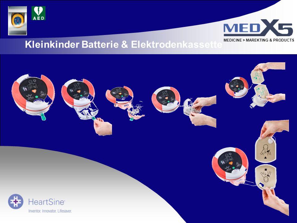 MEDICINE > MAREKTING & PRODUCTS Kleinkinder Batterie & Elektrodenkassette