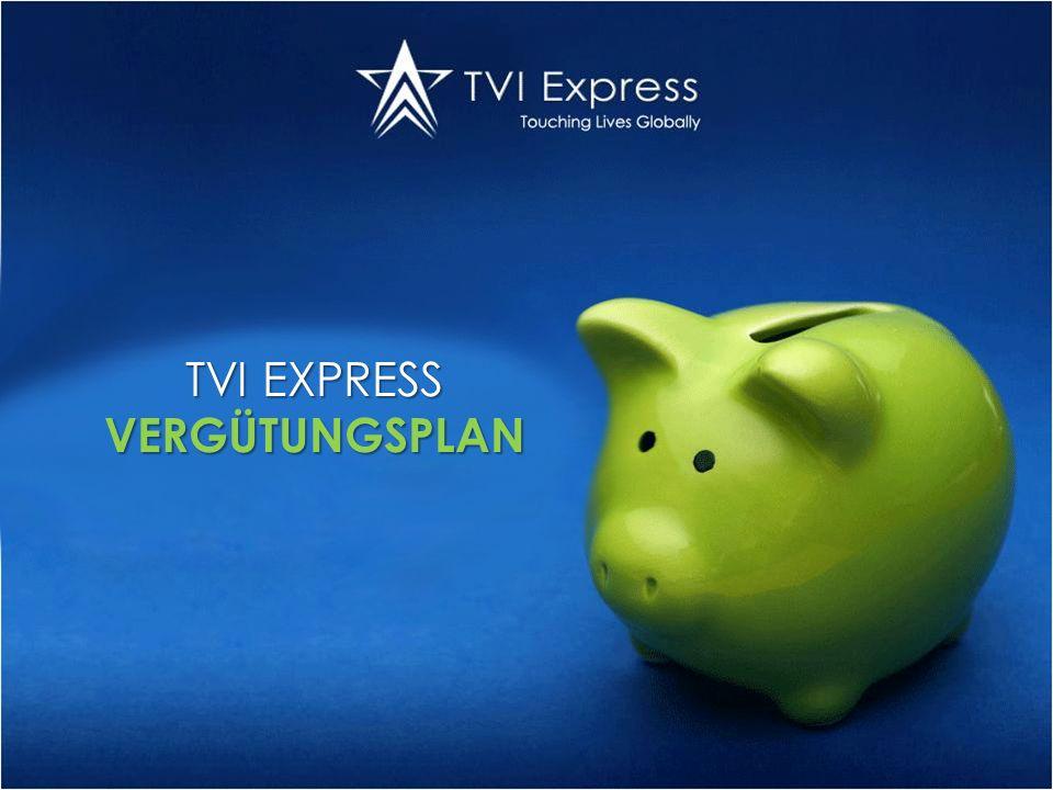 TVI EXPRESS VERGÜTUNGSPLAN