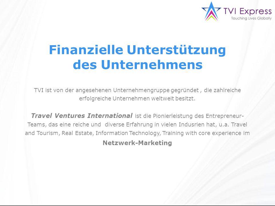 Finanzielle Unterstützung des Unternehmens TVI ist von der angesehenen Unternehmengruppe gegründet, die zahlreiche erfolgreiche Unternehmen weltweit besitzt.