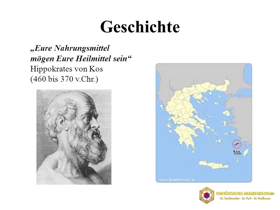 Eure Nahrungsmittel mögen Eure Heilmittel sein Hippokrates von Kos (460 bis 370 v.Chr.)