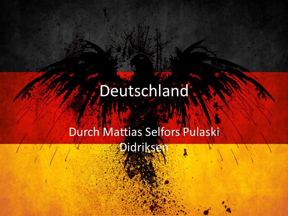 Deutschland Durch Mattias Selfors Pulaski Didriksen