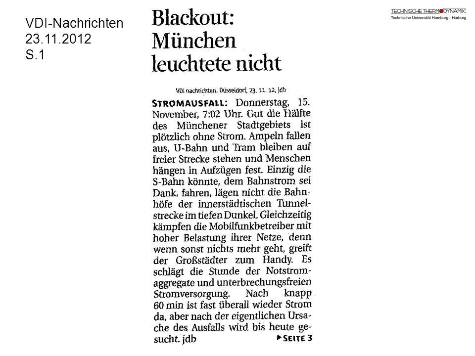 VDI-Nachrichten 23.11.2012 S.1