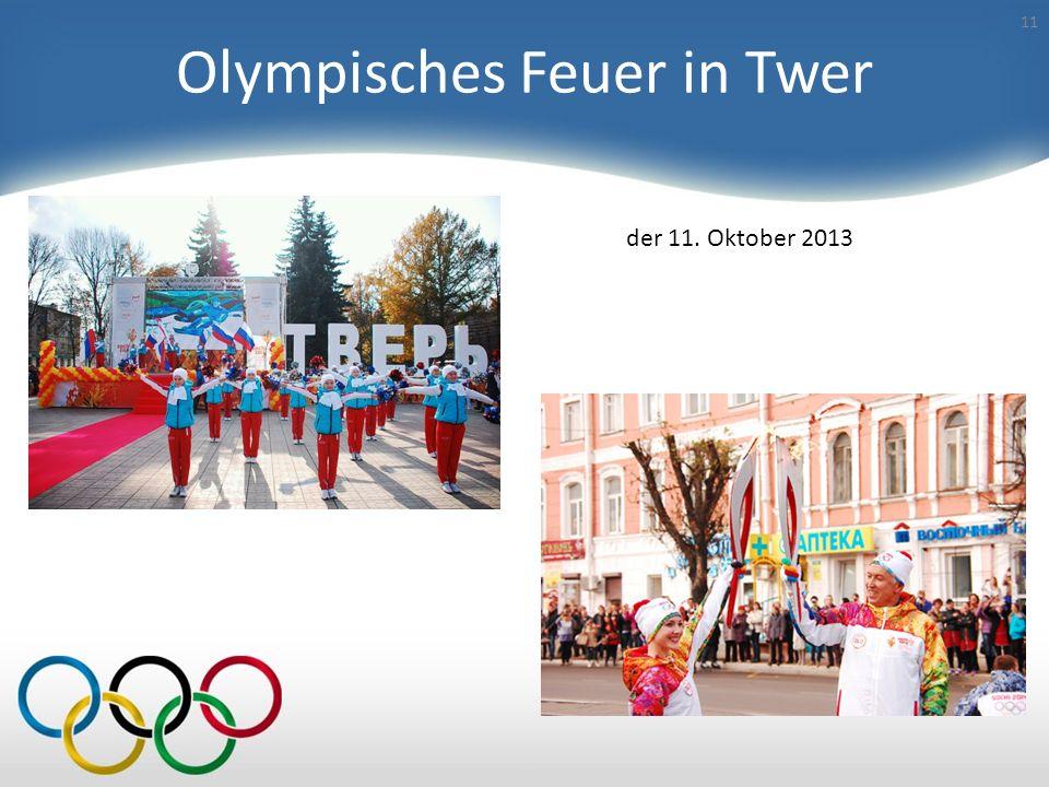 Olympisches Feuer ist eines der Symbole der olympischen Spiele 10 Das olympische Feuer zündet man in den Ruinen des Tempels der Göttin Hera im alten O