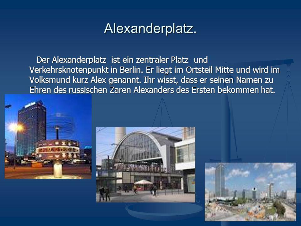 Das Rote Rathaus Das Rote Rathaus Die Berliner nennen es das Rote Rathaus.