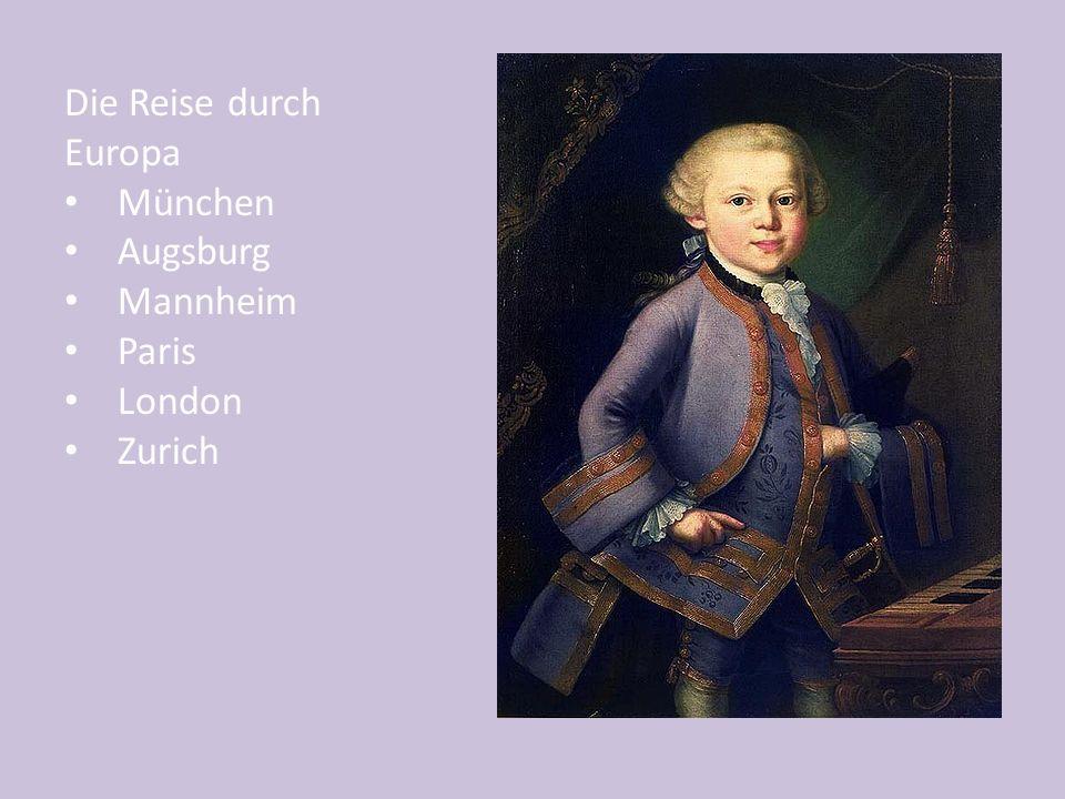 Ein Endings in the Accusative Feminine: Mozart hatte eine grosse Nase.