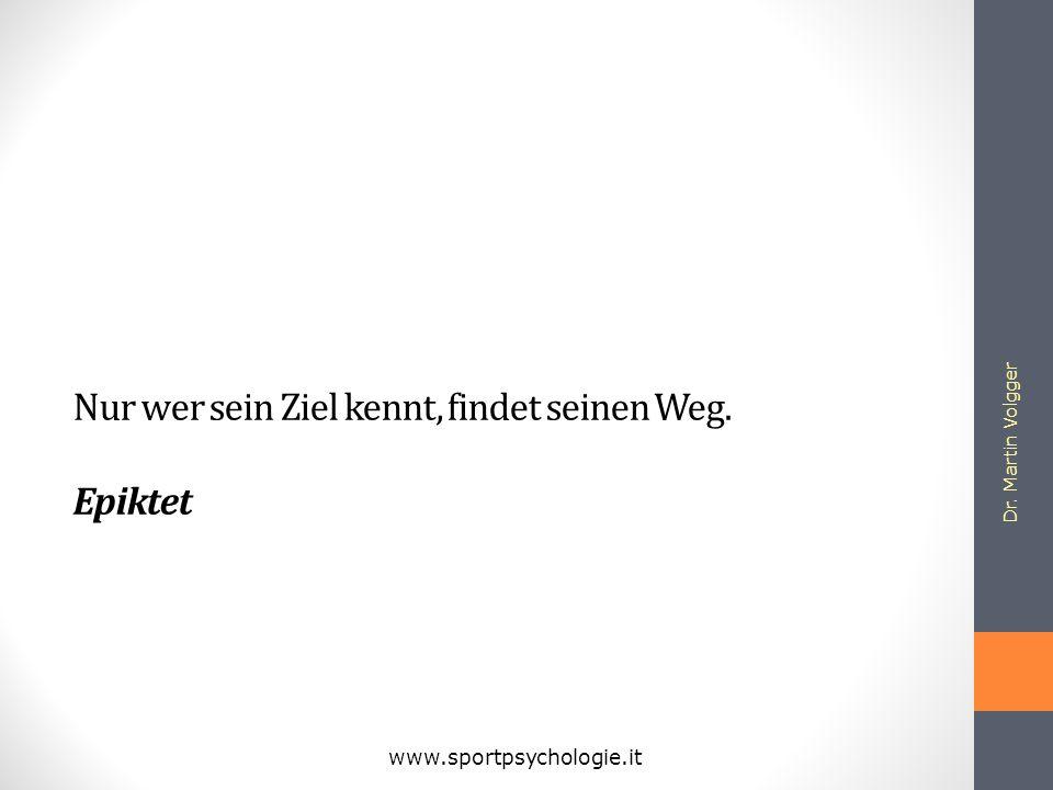 Dr. Martin Volgger www.sportpsychologie.it Der Weg ist das Ziel. Zen