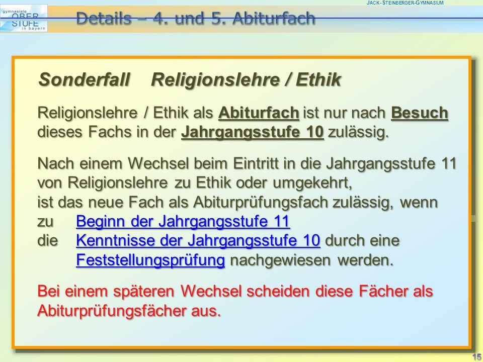 J ACK -S TEINBERGER -G YMNASIUM 4.