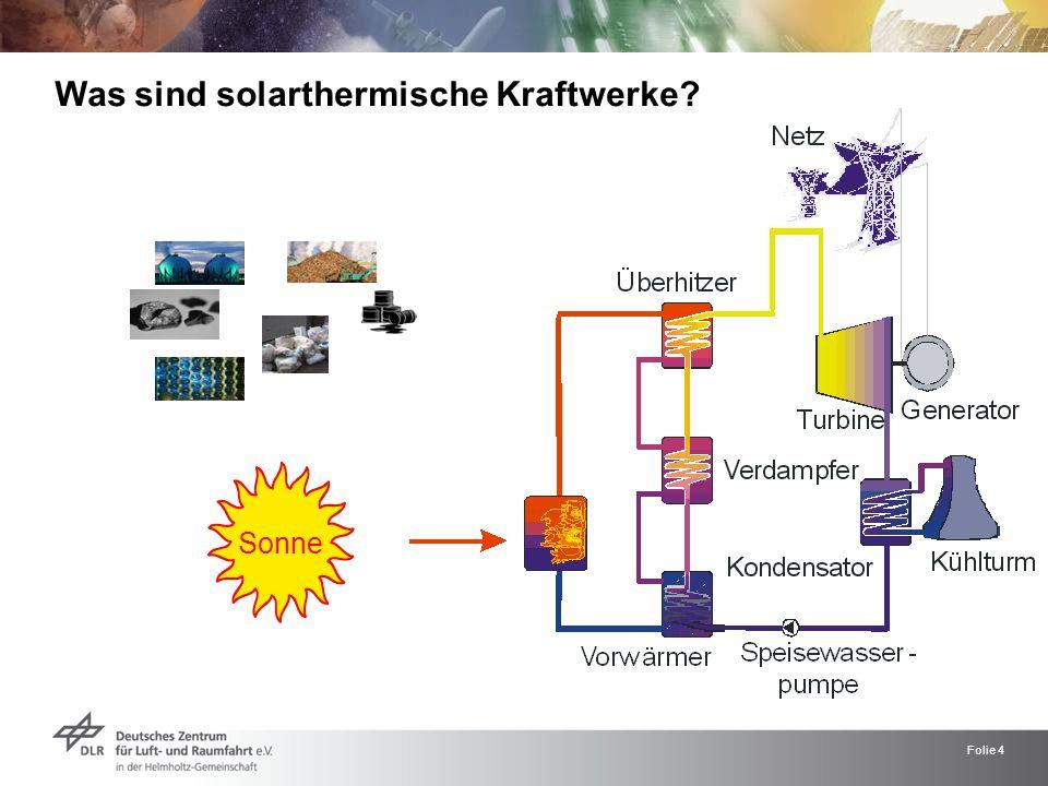 Folie 4 Sonne Was sind solarthermische Kraftwerke?