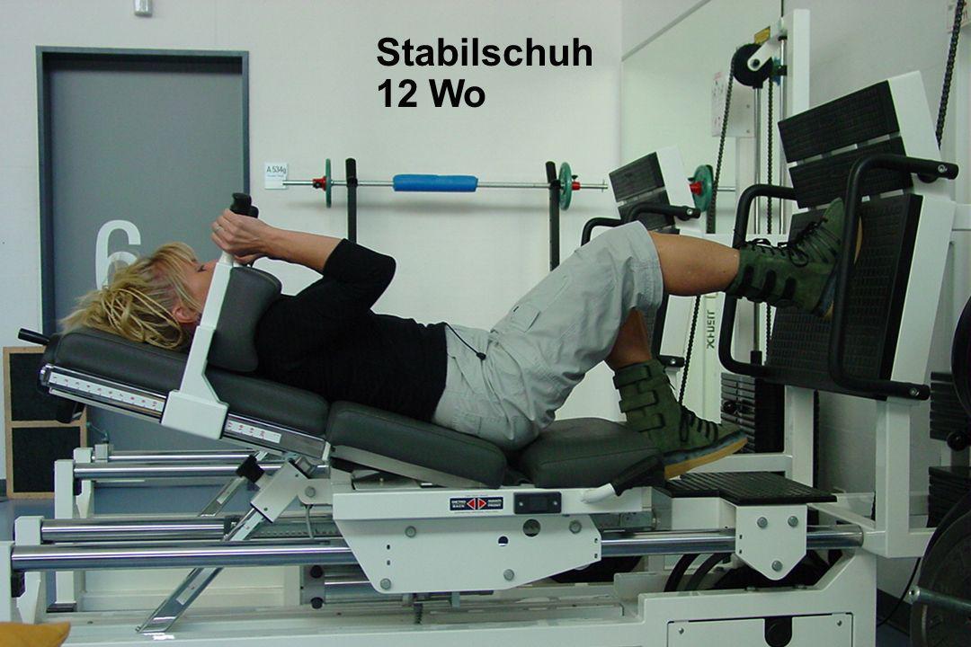 Achillessehnenruptur Stabilschuh 12 Wo