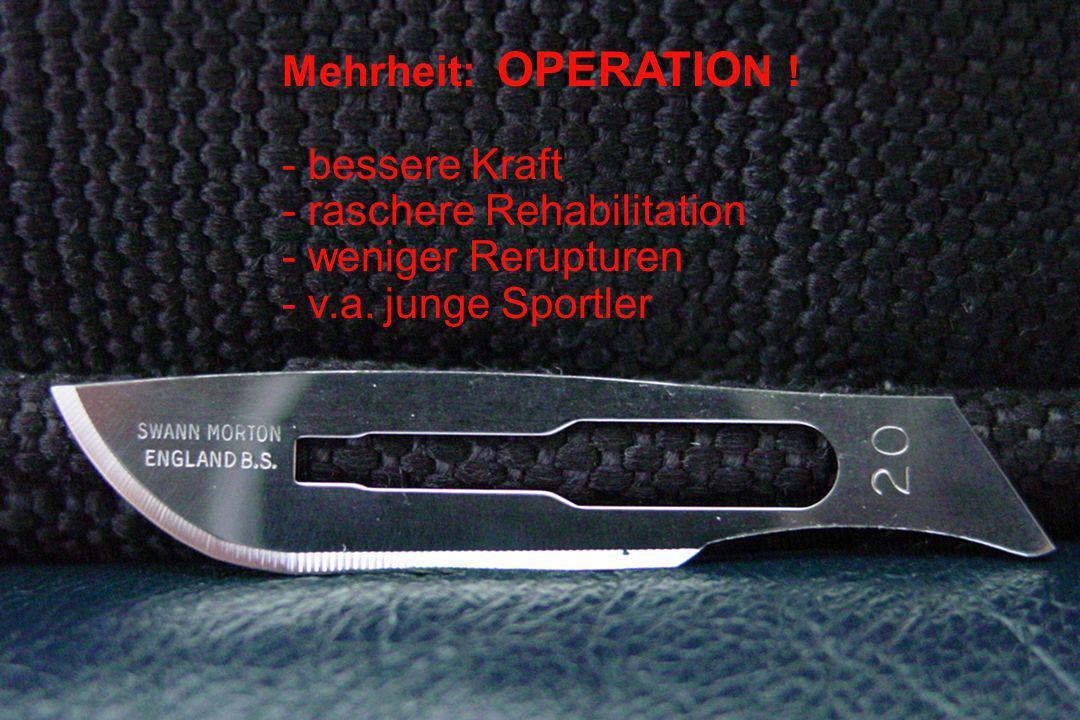 Rerupturen Op Cetti, lit.28/23471.2 % Kons Cetti, lit.69/51413 % Thermann0/28 0 % Reilmann7/132 5 % BE4/55 7.3 %