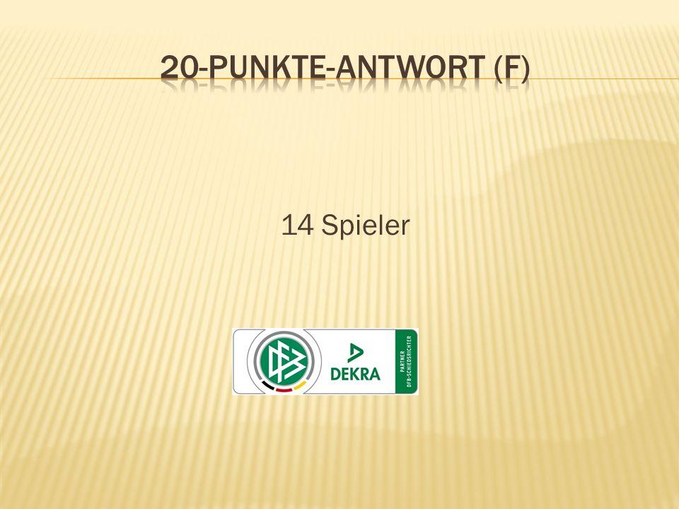 14 Spieler