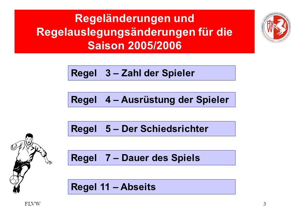 FLVWGünther Baumgärtel/Reiner Witt2 Fußball- und Leichtathletikverband Westfalen Chaos ist die Ordnung, die wir nicht verstehen (Konstantin Wecker)