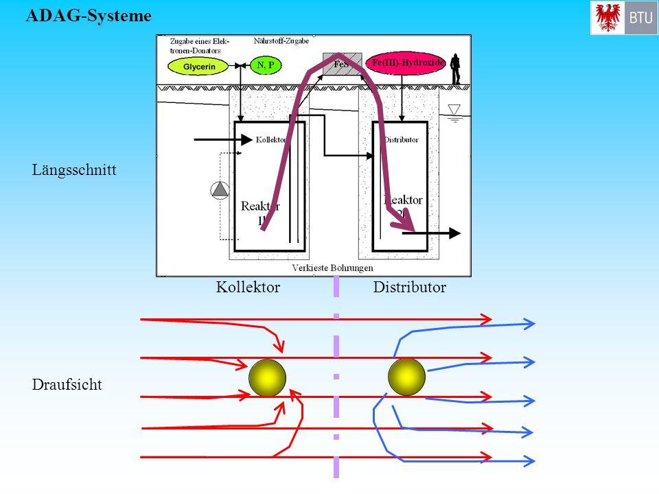 ADAG-Systeme KollektorDistributor Längsschnitt Draufsicht