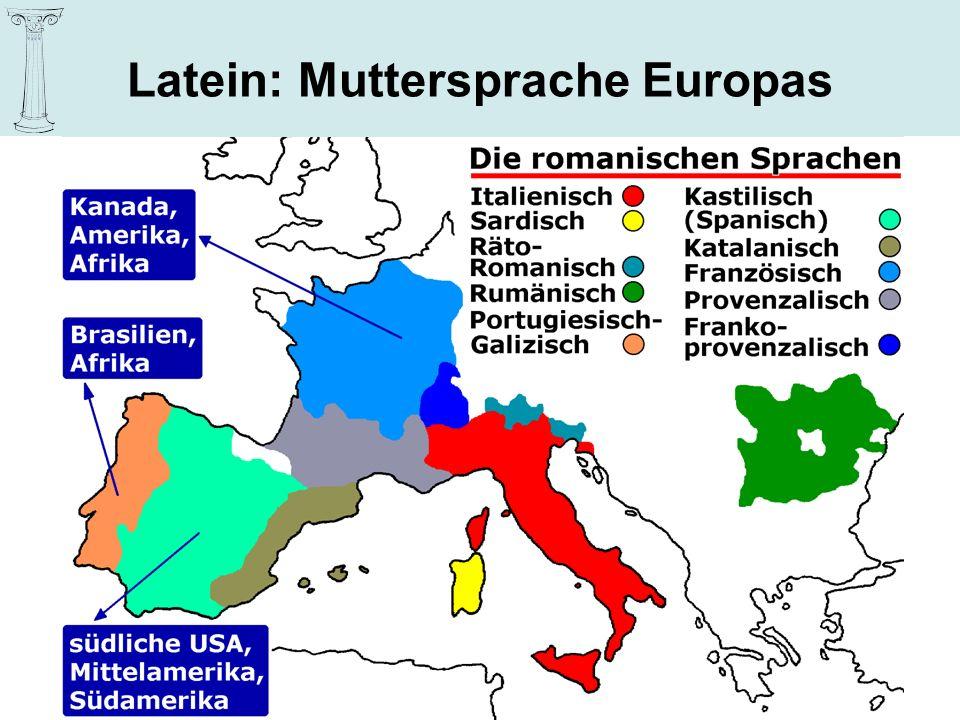Latein – Dienstleister für andere Sprachen … Wie funktioniert Sprache.