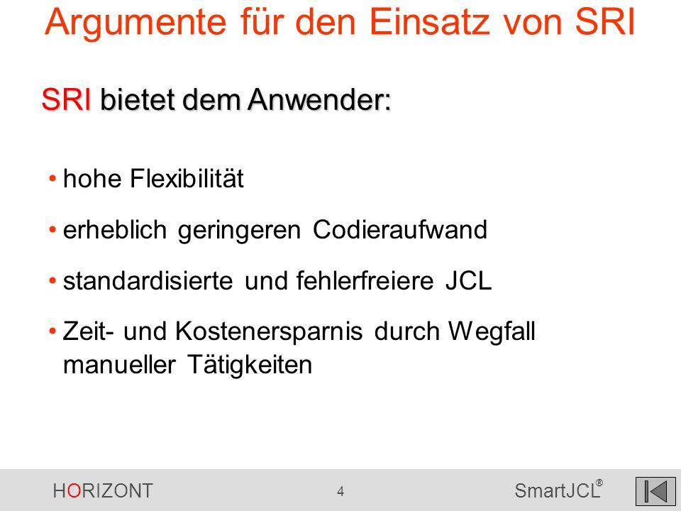 HORIZONT 25 SmartJCL ® Das Unternehmen Europäische Grossbank Ca.
