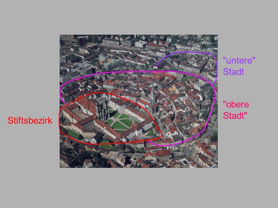 Luftbild Stiftsbezirk