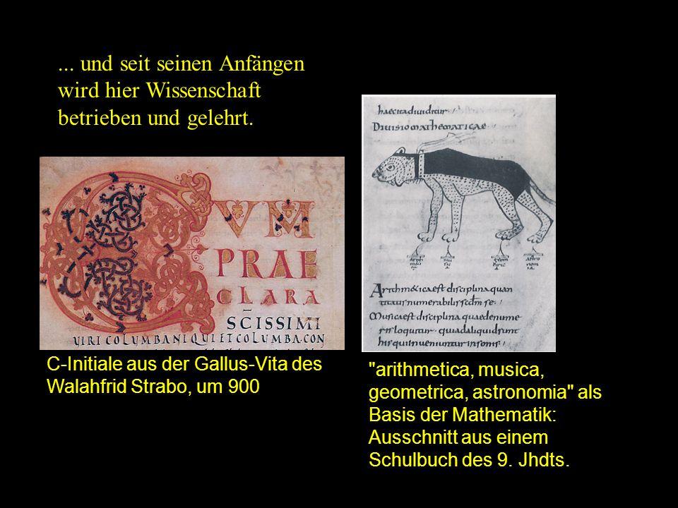 Reformation Stiftsbezirk mit Schiedmauer und Karlstor.