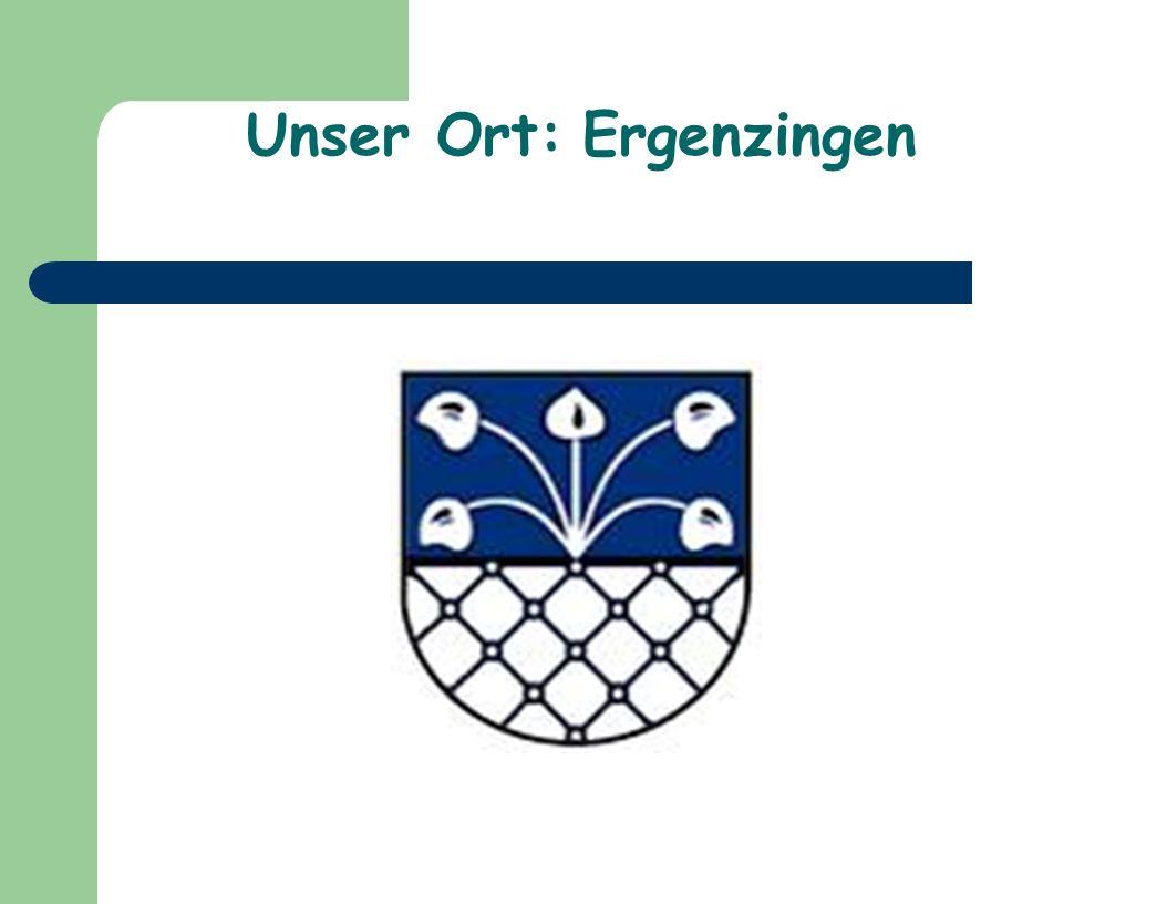 Ergenzingen und seine Einwohner Geographische Lage: Ergenzingen liegt 11 km südöstlich von Nagold, 14 km südlich von Herrenberg, 12 km westlich von Rottenburg a.N.