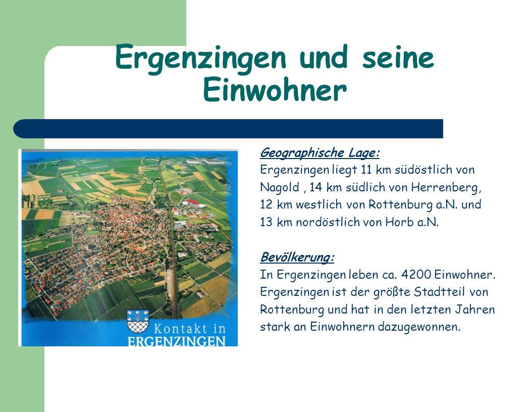 Ergenzingen hat viele Sport- möglichkeiten z.B.den Sport- Park Bananas und die Sport- anlagen.