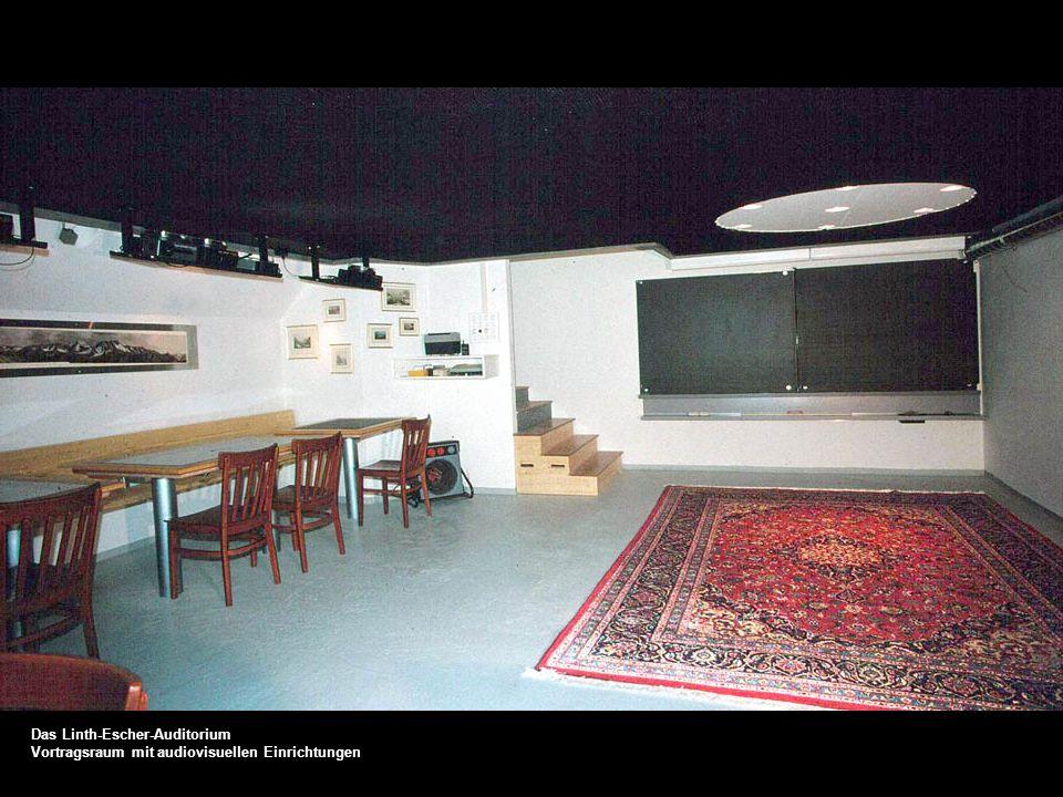 Das Linth-Escher-Auditorium Standort der Prototyp Anlage