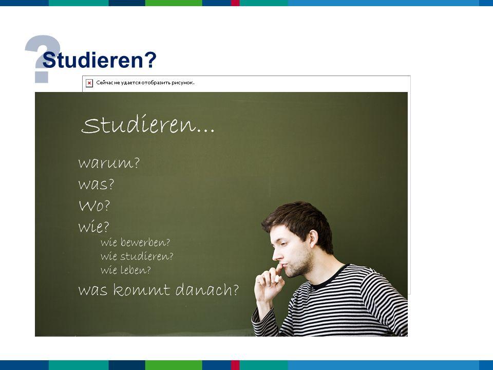 ? Studieren?