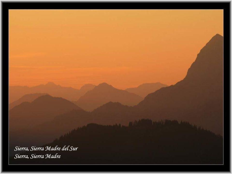 ,,Wenn der Morgen kommt und die letzten Schatten weichen schauen die Männer der Sierra (Gebirge) nach oben zu den sonnigen Höhen wo der weisse Kondor
