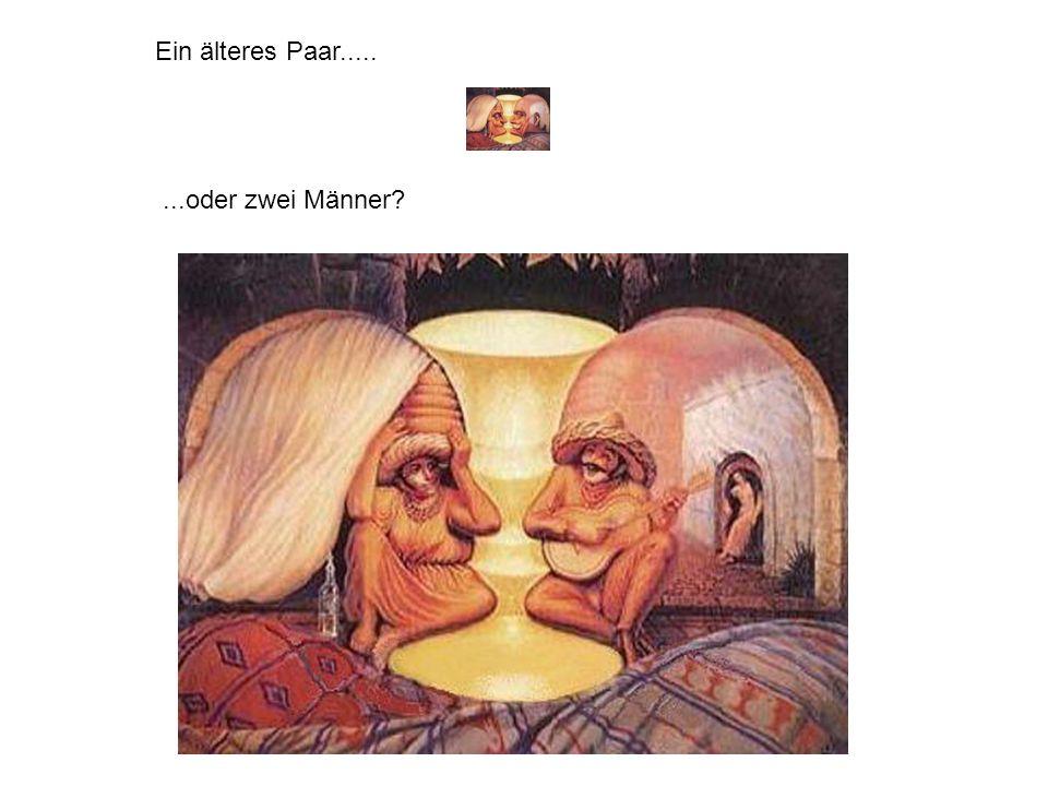 ...oder zwei Männer? Ein älteres Paar.....