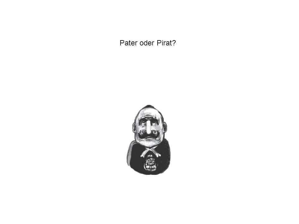 Pater oder Pirat?