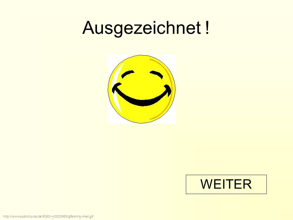 Ausgezeichnet ! http://www-public.tu-bs.de:8080/~y0020953/gifs/smily-mec.gif WEITER