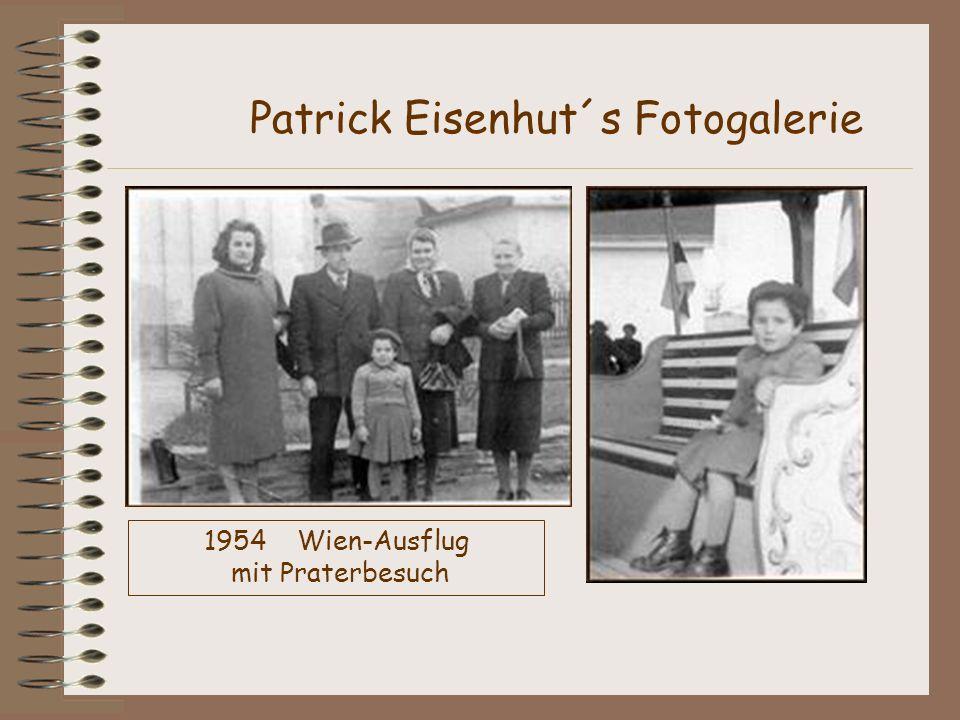1954 Wien-Ausflug mit Praterbesuch Patrick Eisenhut´s Fotogalerie
