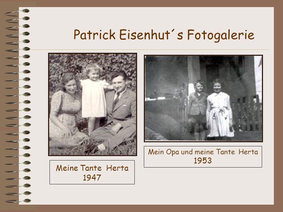 Meine Tante Herta 1947 Patrick Eisenhut´s Fotogalerie Mein Opa und meine Tante Herta 1953